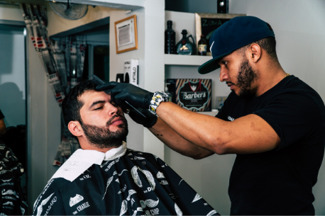 An area dedicated to the Barber