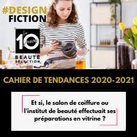 #DesignFiction préparations en vitrine