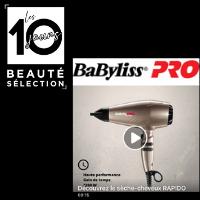 Focus produit : Sèche-cheveux Rapido by BabylissPRO