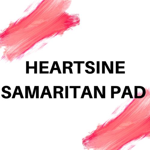 HEARTSINE SAMARITAN PAD