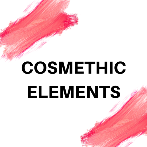 COSMETHIC ELEMENTS