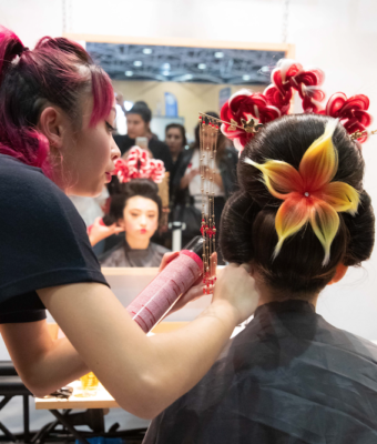 Remise des prix du concours coiffure